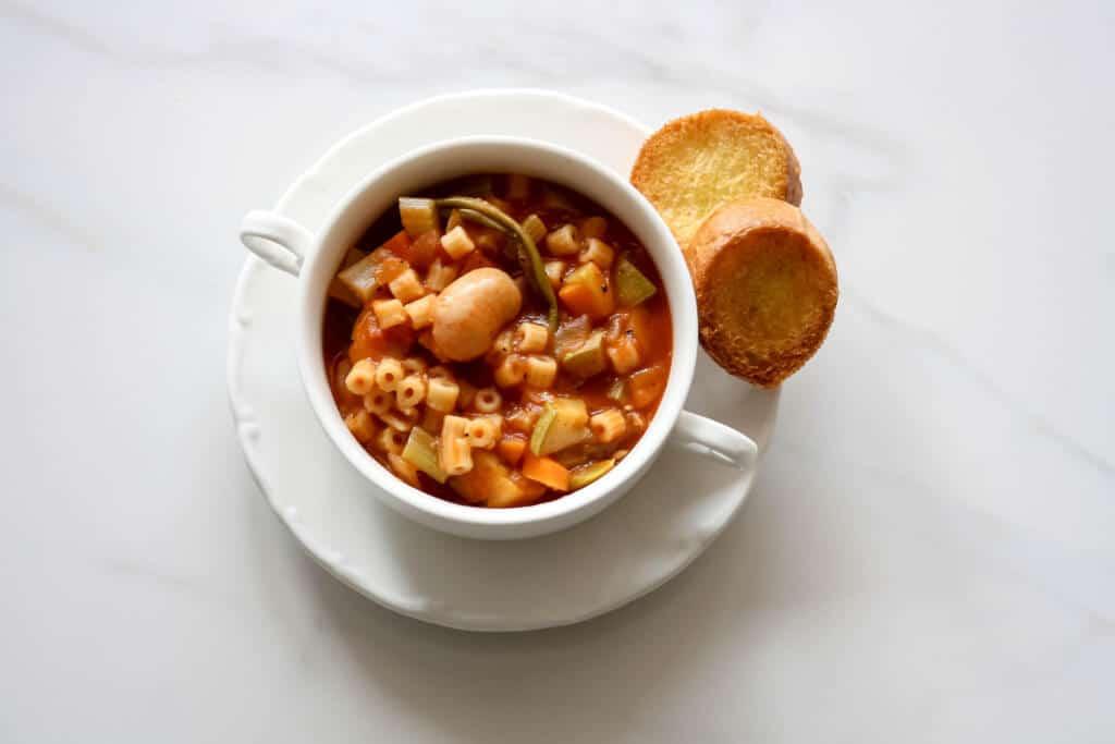 Homemade Minestrone Soup Recipe    מתכון למרק מינסטרונה בייתי-
