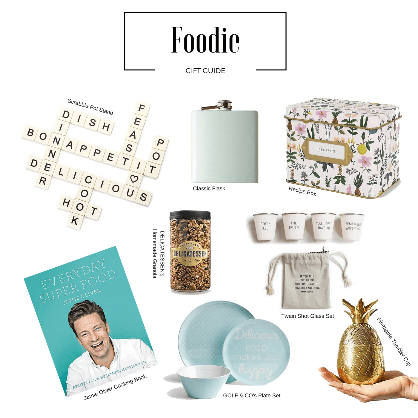 Holiday gift Guide For The Foodie